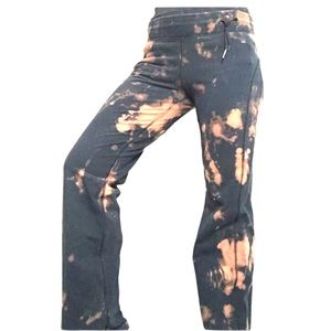 Lululemon Sweatpants Tie-Dye black